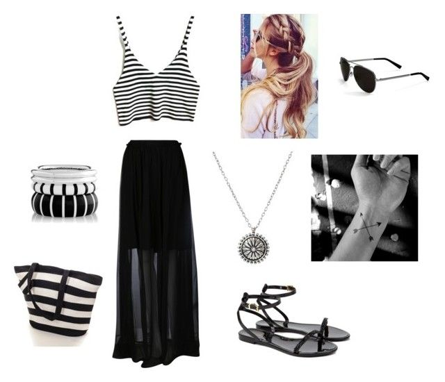 """""""Untitled #23"""" by skirmantesatkute ❤ liked on Polyvore featuring Carven, Ted Baker and Calvin Klein"""