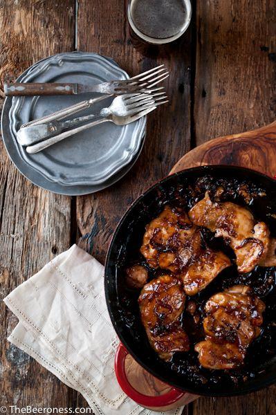 Honey Chili Beer Chicken