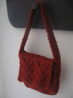 Knit Tote Bag Pattern Free : 1000+ images about Free Bag, Purse & Case Knit Pattern on ...