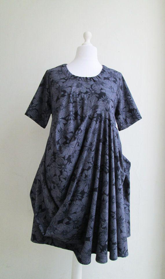 MONFLEUR Dress Artistic Quirky  Sculptural Adjustable  by Converte, $75.00