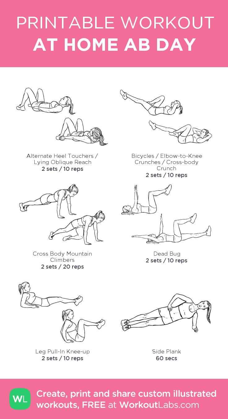 50 day ab workout
