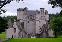 Castle Fraser begun in 1575 by the 6th Laird of Fraser, Michael Fraser. Completed in 1636