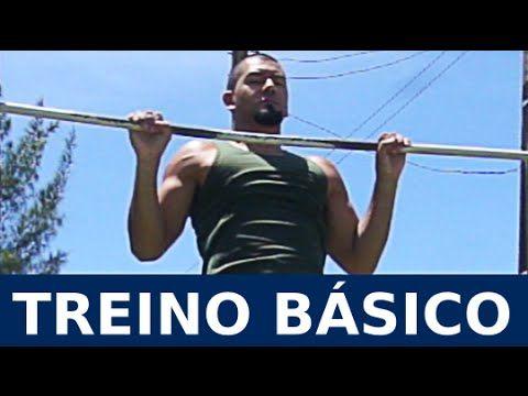 Treino Básico Funcional para Iniciantes - Comece a treinar calistenia! - YouTube