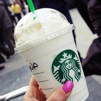 The Bucks hack - Starbucks Candy Cane Frappuccino - Ask your barista for a Vanilla Bean Frappuccino with 1-2 additional pumps of Peppermint Syrup.