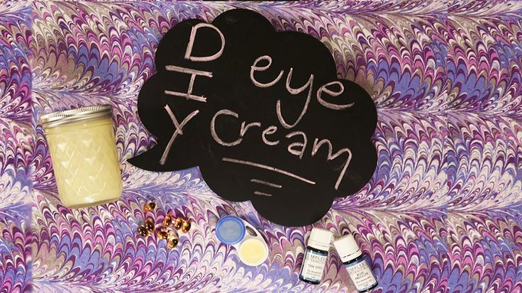 Only 3 Ingredients to This DIY, Collagen-Boosting Eye Cream: Eye cream is necessary - end of story.