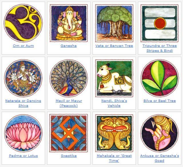 Sacred Symbols: Image Gallery of Hindu Symbols
