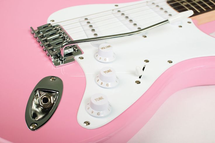 FENDER STRAT PINK SQUIER BULLET STRATOCASTER ELECTRIC GUITAR ~ NEW #Squier