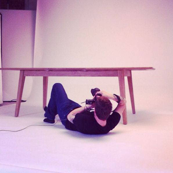 Sometimes you've just got to go with a slightly different angle! #photoshoot