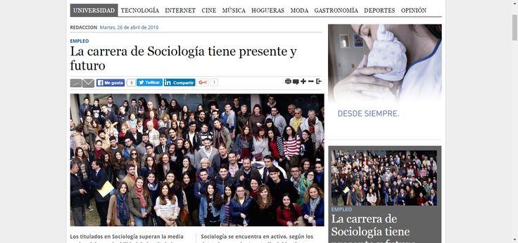 La carrera de Sociología tiene presente y futuro — Alicante Press