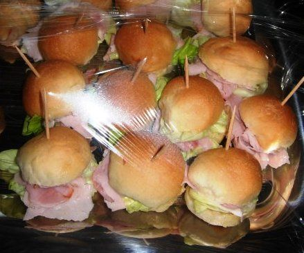 Il mondo di fabyred: Bollini o paninetti da buffet