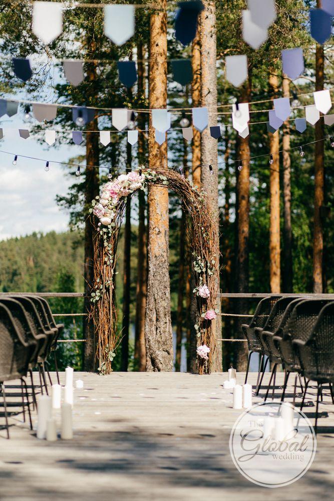 Лавандовая свадьба Выездная регистрация Lavanda wedding Ceremony arch