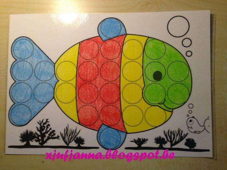Juf Janna: Klein Wit Visje (kleuren)