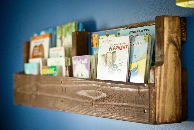 toddler boy bookshelves | Wood Pallet bookshelf | Baby Boy Salman