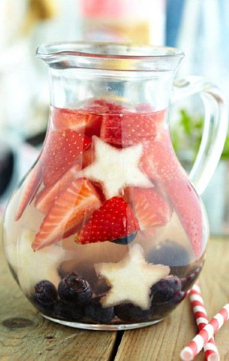 all american sangria fourth of july cocktail