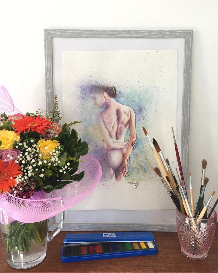 """Mi piace"": 87, commenti: 15 - Anna G. (@anna_g_fashion) su Instagram: ""Flowers and Watercolours - perfect match 🌺💖🎨…"""
