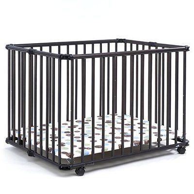 """GEUTHER Laufgitter """"Lucy"""" Laufstall Baby NEU grau!! #ebayinspiriert #ebaykollektionen"""