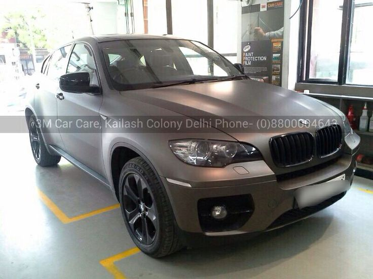 Bmw X6 Gets Wrapped In 3m Matte Charcoal Grey Metallic