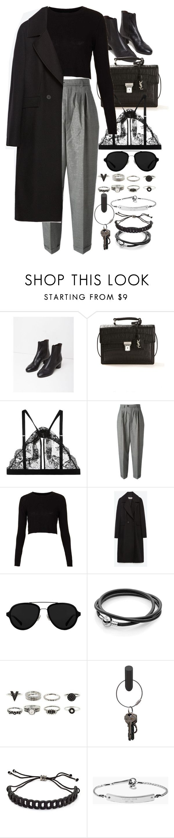 """""""Untitled #8411"""" by nikka-phillips ❤ liked on Polyvore featuring Isabel Marant, Yves Saint Laurent, Mimi Holliday by Damaris, Topshop, Zara, 3.1 Phillip Lim, PA Design, Marc by Marc Jacobs and MICHAEL Michael Kors"""