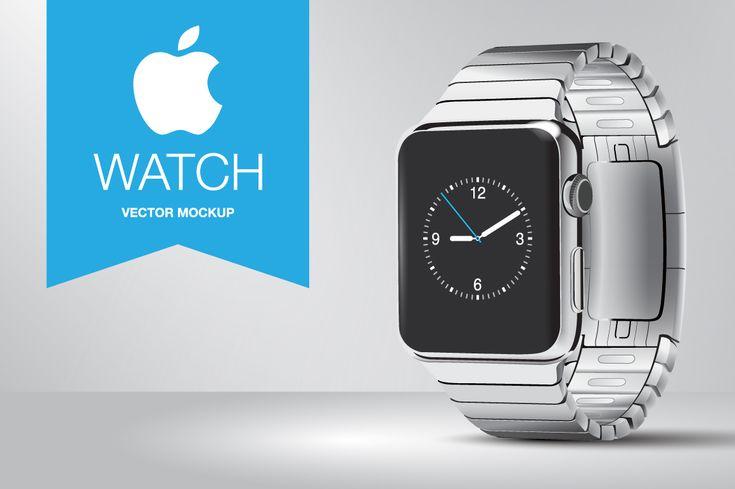 Apple Watch Vector by gavin.simpson on Creative Market