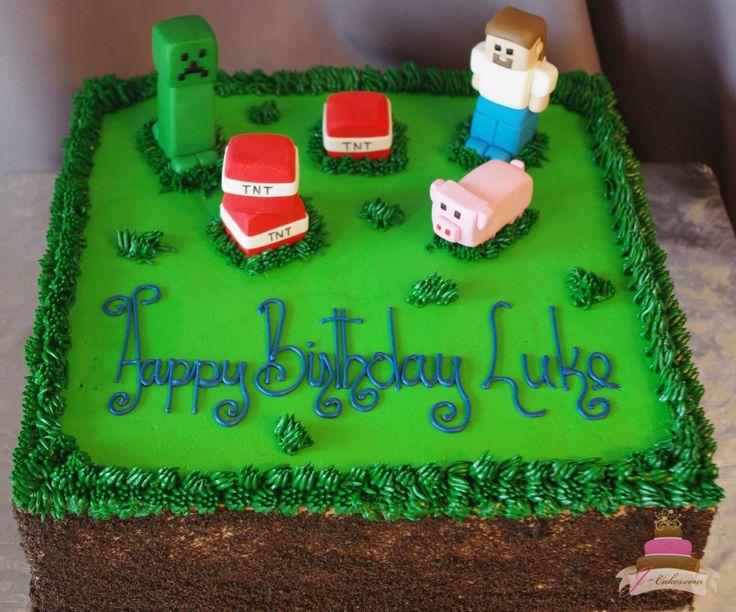 517 Minecraft Theme Sheet Cake Kids Cakes Pinterest
