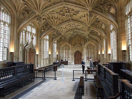 Divinity School d' Oxford pour l'infirmerie