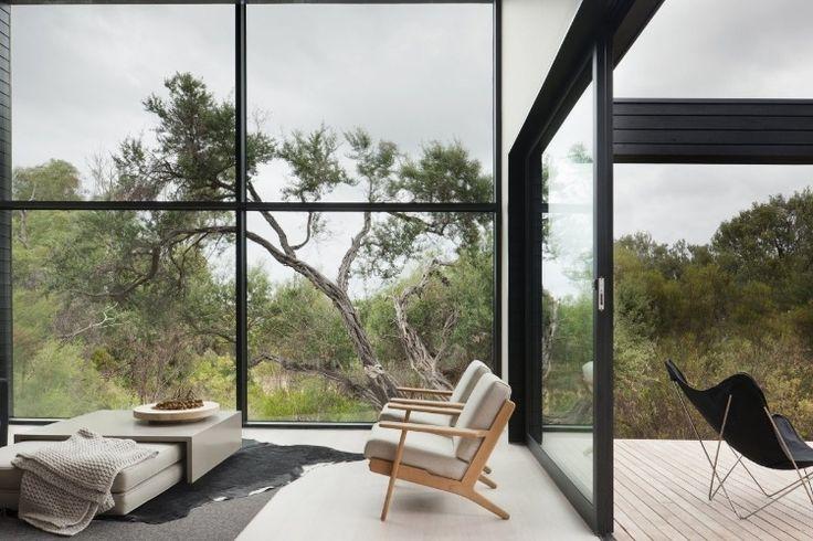 Ridge Road Residence by StudioFourBlack House, Open Spaces, Australia, Living Room, Interiors Design, Windows, Roads Resident, Architecture, Ridge Roads