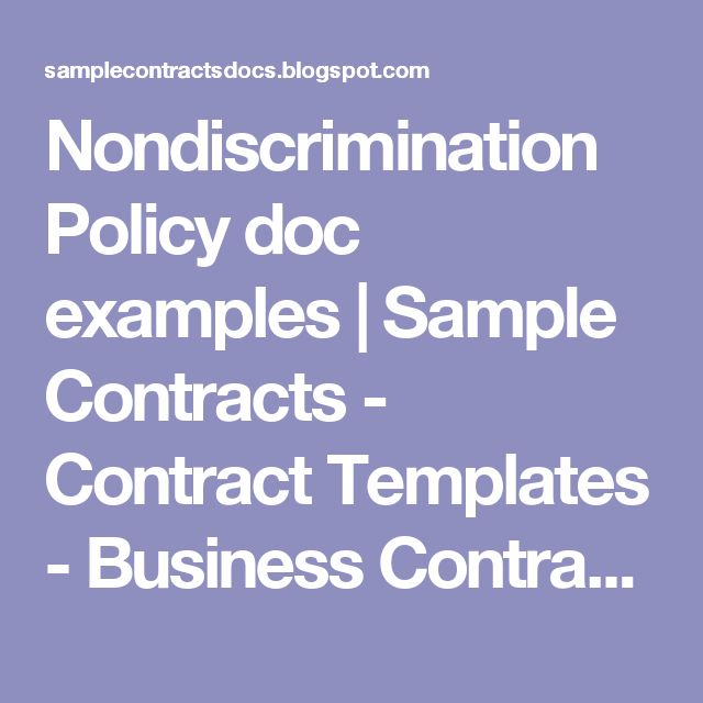 Best Contracts Images On   Template Role Models And