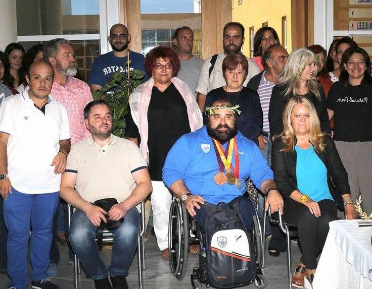 Σε εξέλιξη η επίσκεψη του παραολυμπιονίκη Παύλου Μάμαλου στη Σπάρτη (video) | Laconialive.gr - Η ενημερωτική ιστοσελίδα της Λακωνίας, Νέα και ειδήσεις