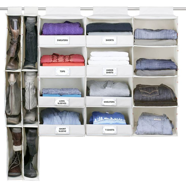 Complete Hanging Closet System   Pictured As 2 Boot Units, 2 Deluxe Unit, 1  Essential Unit