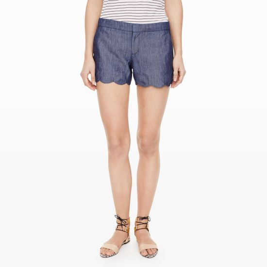 Amber Chambray Short - Shorts Women from Club Monaco Canada