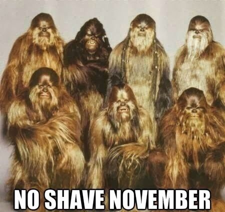 Funny Bigfoot no shave Movember Picture