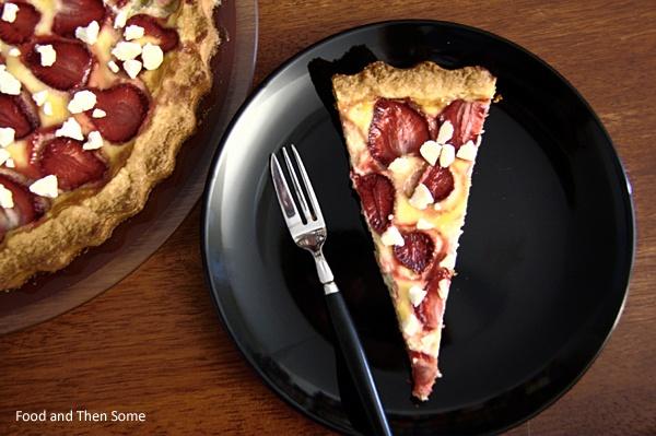Strawberry Pie w/ Meringue Nuggets