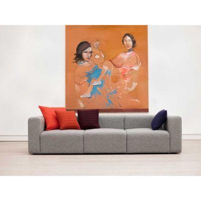 Mags 3-sits soffa, ljusgrå från Hay – Köp online på Rum21.se