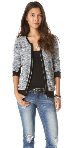 Perfect fall jacket to dress up my casual jeans