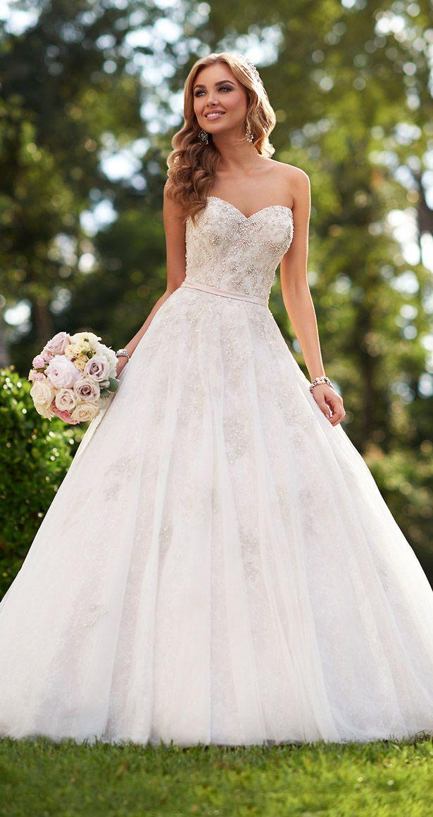 Gorgeous wedding dresses by Australian bridal designer Stella York for a fairy-tale wedding to remember.
