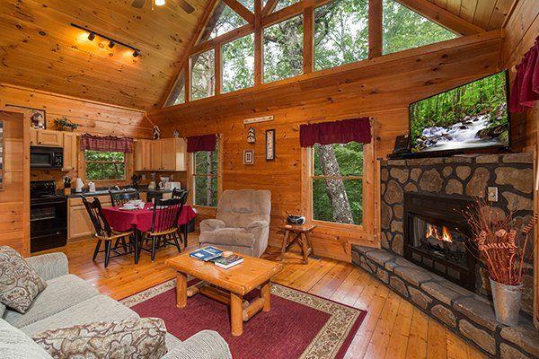 Cabin Sweet Cabin Value 1 Bedroom Gatlinburg Cabin Rental Gatlinburg Cabin Rentals Cabin Rentals Gatlinburg Cabins