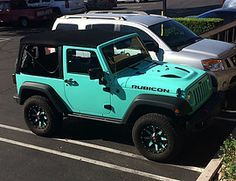 2014 Jeep Rubicon Tiffany Blue | Tota Auto Pros......not really a jeep person, but this is gorgeous!
