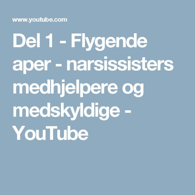 Del 1 - Flygende aper - narsissisters medhjelpere og medskyldige - YouTube