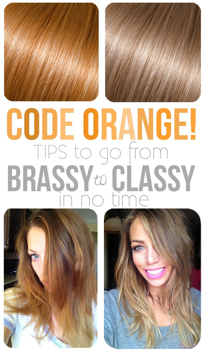 Brassy to Classy-I tell my clients don't forget to go get the purple shampoo!!!!!!!!!!!!!!! If your going to spend the money for color invest in shampoo that keeps it blonde .Just rember to leave it on hair for 3 minutes then rinse.