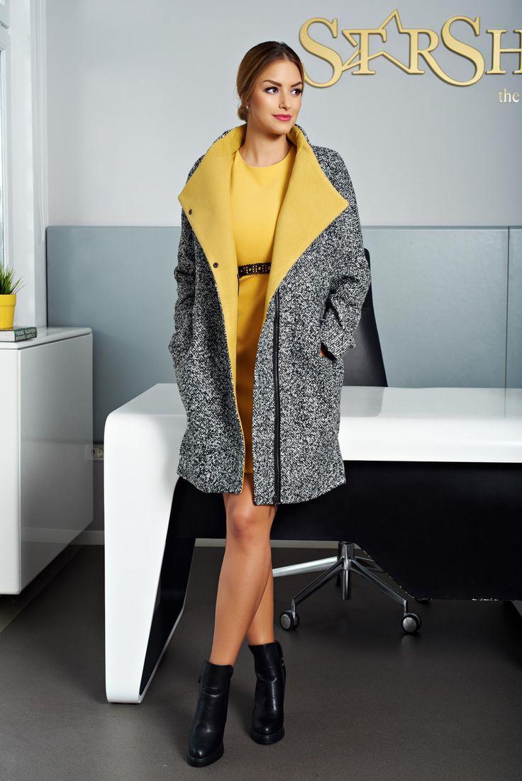 Palton Top Secret TPZ0115 DarkGrey