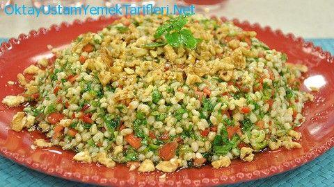Nar Ekşili Buğday Salatası Tarifi Oktay Usta