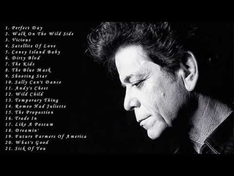 Lou Reed: Best Songs Of Lou Reed - Greatest Hits Full Album Of Lou Reed - YouTube