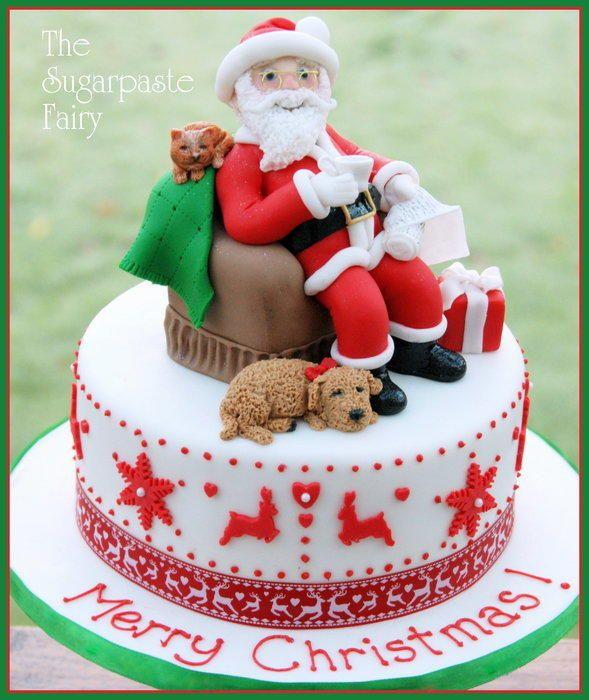 Santa Fairy Cakes