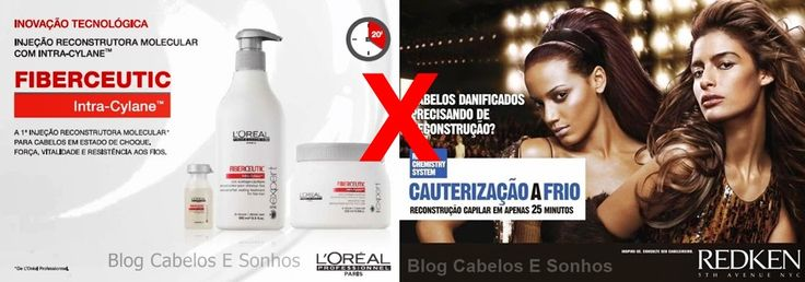 Botox Capilar X Cauterizacao a Frio e as comparacoes - Cabelos E Sonhos