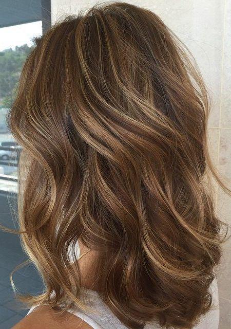 Lowlights und Highlights für Braun Haar für 2017 Smart Frisuren für Moderne H – Top Trend Frisuren