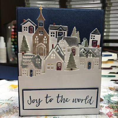 Hi Everyone, So my favorite Christmas Carol is Joy to the World and anytime I find it on a stamp set I just need to get it.  In the Holida...