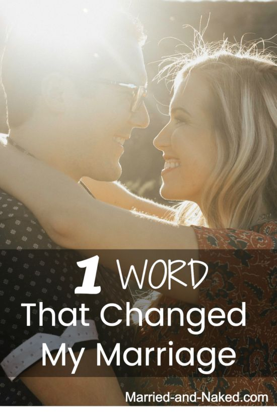 My husband and I were struggling. Then, one day, a friend said something to me that changed everything.  Check out what she said that led me on a path to transform my marriage.  For more marriage tips visit, http://married-and-naked.com
