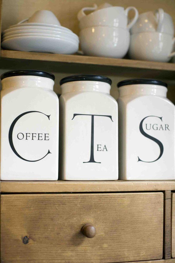 Best 25 Tea Coffee Sugar Canisters Ideas On Pinterest