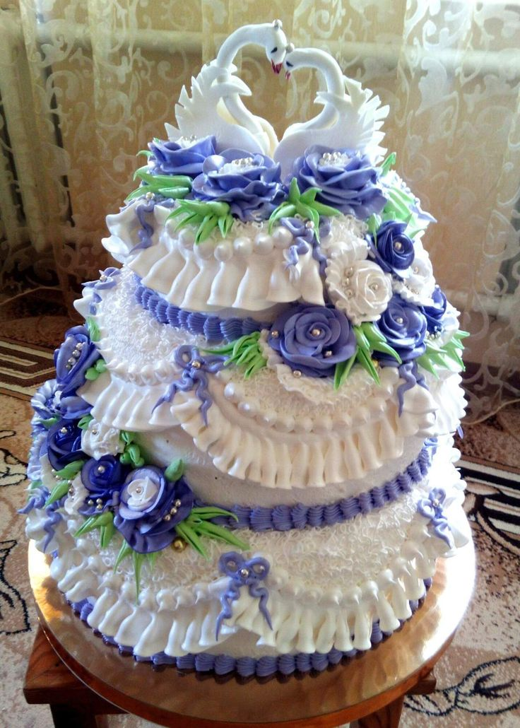 Свадебный торт фото с белковым кремом