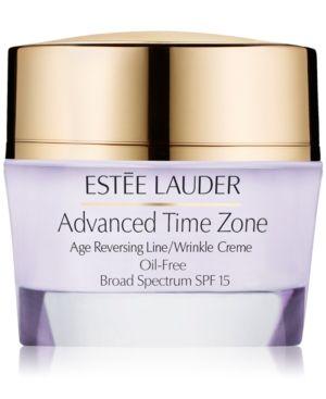 Estee Lauder Advanced Time Zone Age Reversing Line/Wrinkle Creme Oil-Free Broad Spectrum Spf 15 1.7 oz.